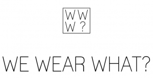 We Wear What Logo